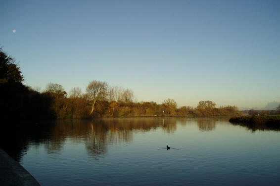 The River Yare view from Bramertom Woods End