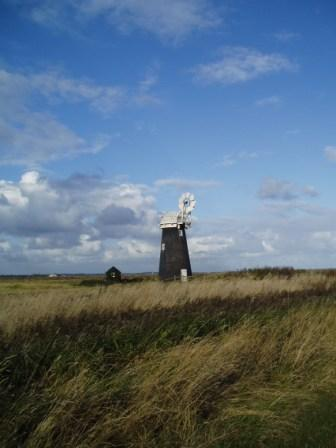 A mill on the marshes