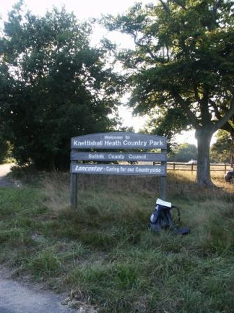 Knettishall Heath Coutry Park Sign