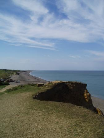 Looking west along the coast of from Weybourne