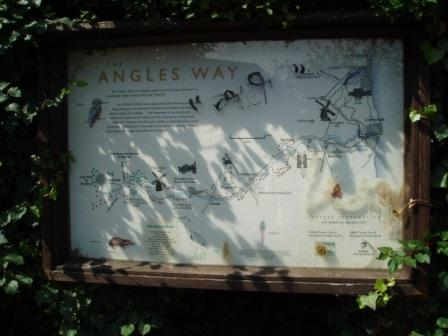 Map of the Angles Way