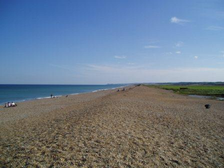 Salthouse Shingle Bank looking East to Weybourne