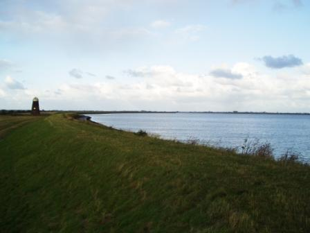 View across Breydon Water